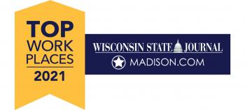 Wisconsin State Journal Madison, WI Top Workplaces 2021 Award